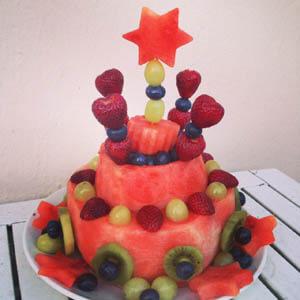 Gesunder Geburtstagskuchen Für Kinder Mamacleverde