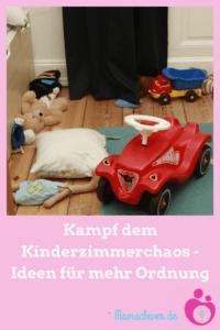 Ideen für mehr Ordnung im Kinderzimmer