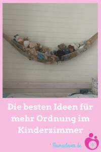 Die besten Ideen für mehr Ordnung im Kinderzimmer