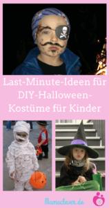 Schnell Selber Machen Halloweenkostüme Für Kinder Mamacleverde