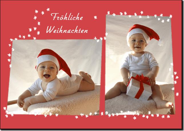 Ideen f r weihnachtsfotos mit babys und kindern - Kinderfotos weihnachten ...