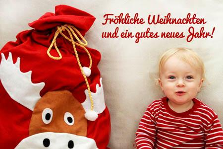 ideen f r weihnachtsfotos mit babys und kindern. Black Bedroom Furniture Sets. Home Design Ideas
