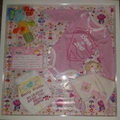 Häufig DIY: Einen Erinnerungsrahmen fürs Baby basteln | Mamaclever.de XY55