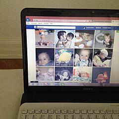 Babyfotos im Netz