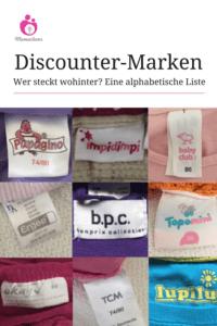 zuverlässigste farblich passend limitierte Anzahl Wer hinter welcher Marke steckt - eine Liste | Mamaclever.de