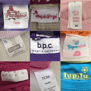 Eine alphabetische Liste, wer hinter welcher Kleidungsmarke steckt