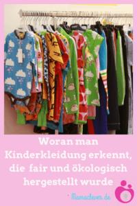 Woran man fair und ökologisch produzierte Kinderkleidung erkennt