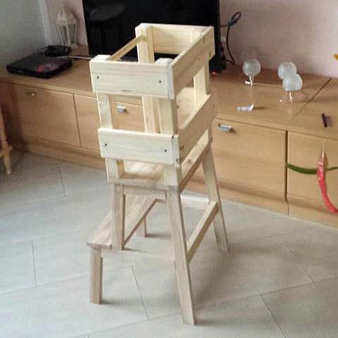 der lernturm zum kaufen oder selberbauen. Black Bedroom Furniture Sets. Home Design Ideas