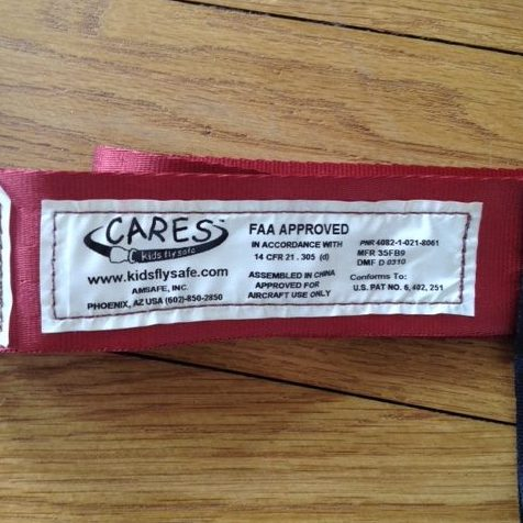 Der Cares-Gurt ist von der FAA zugelassen