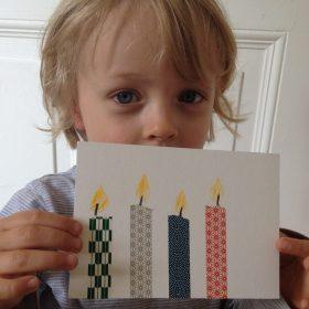 Vierjähriger Junge