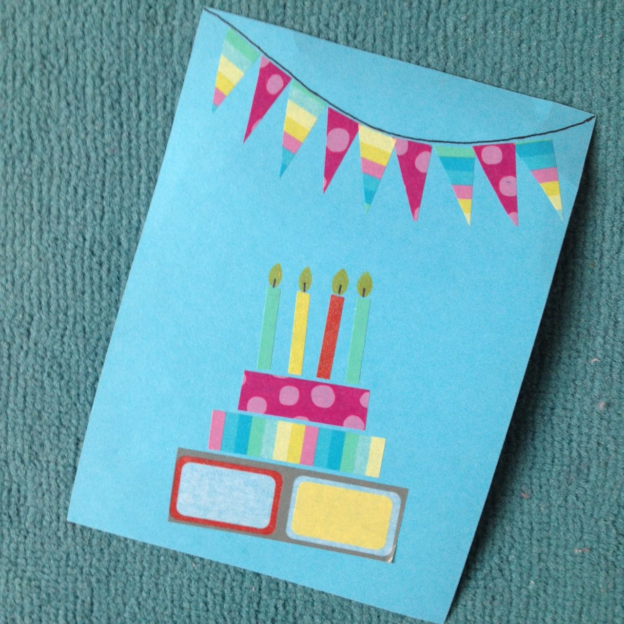 Kindergeburtstag: Einladungskarten selber basteln