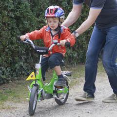 Radfahrenlernen