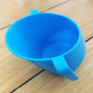 blauer Doidy Cup