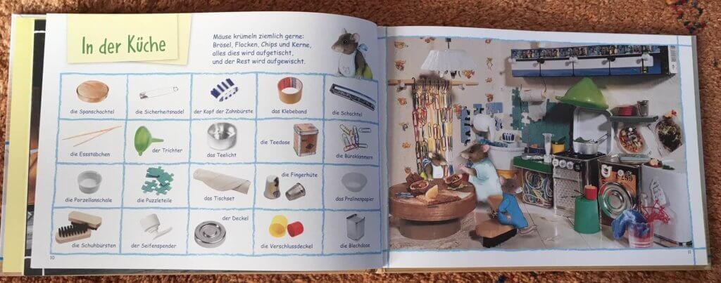 Blick in das Buch Suchen und Finden bei Maus zu Haus
