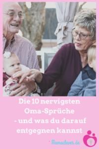 Die Top 10 der nervigen Oma-Sprüche und was man darauf entgegnen kann