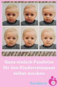 Spartipp: Biometrische Kinderpassfotos selber machen