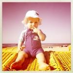 Die richtige Sonnencreme für Babys